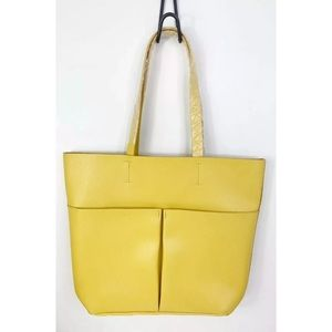 Neiman Marcus Leather Tote Bag
